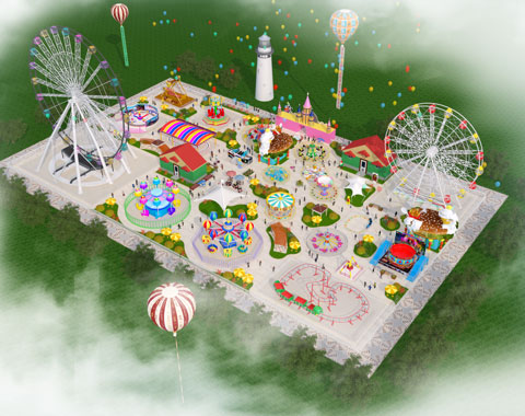 BRFSA 10 - Free Amusement Park Design For Saudi Arabia Project - Beston Company