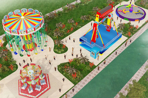 Free Amusement Park Design By Beston - 01