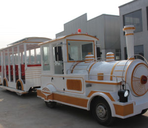 BRFN 01 - Large Trackless Trains For Sale To Nigeria - Beston Factory