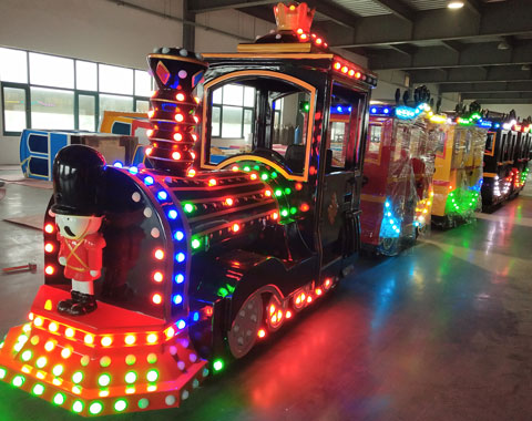 BRFN 02 - New Trackless Train Ride For Sale Nigeria - Beston Factory