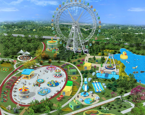 PDFN 01 - 3D Amusement Park Design For Nigeria Project - Beston Factory