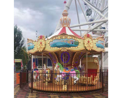 14-Seat Carousel Ride for Sale to Kazakhstan - Beston Factory
