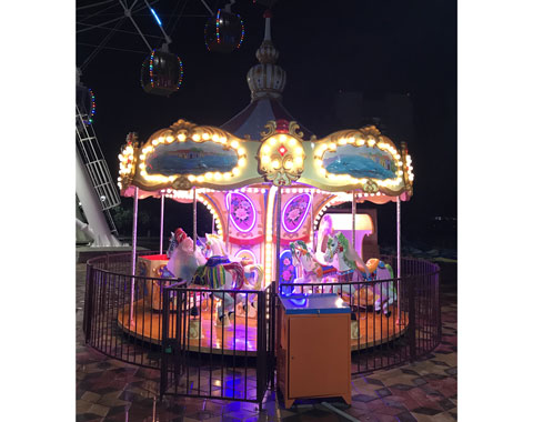 14-Seat Carousel for Sale Cheap to Kazakhstan - Beston Supplier