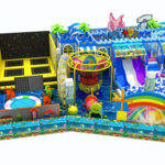 158㎡ Indoor Playground Equipment For Sale To Russia