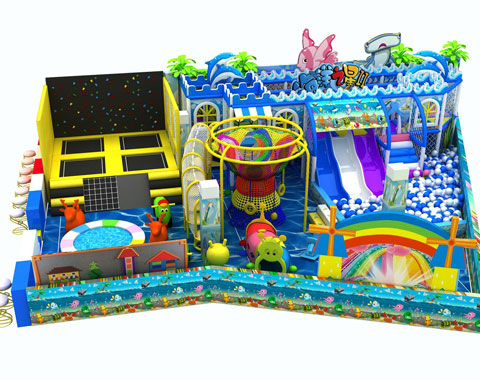 158㎡ Indoor Playground Equipment For Sale To Russia - Beston Supplier