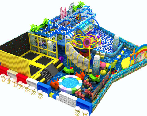 158㎡ Indoor Playground Equipment From Beston Supplier