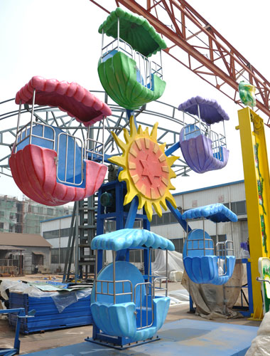 KFW 01 - Kiddie Ferris Wheel for Sale in Pakistan - Beston Factory