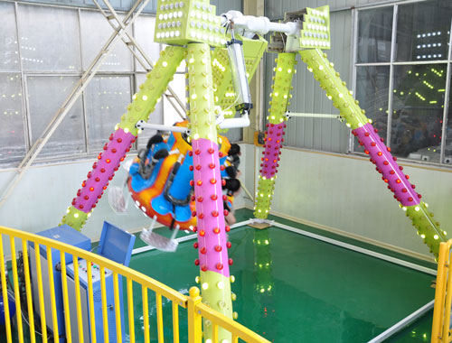 KPR 02 - Kiddie Pendulum Ride for Sale to Pakistan - Beston Factory