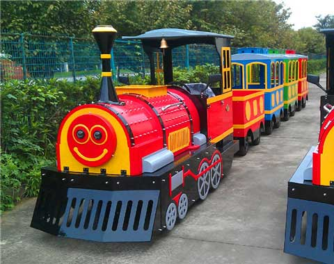 Smile Trackless Train for Sale