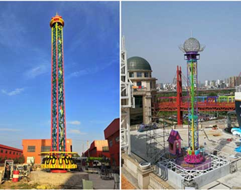 Thrill Drop Tower Rides