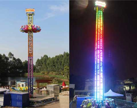 New Drop Tower Rides from Beston