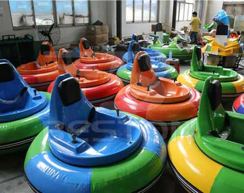 Inflatable Electric Bumper Cars
