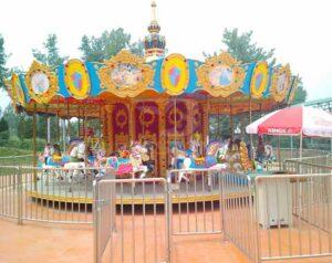 Fairground Carousel Rides